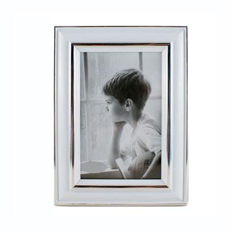 Tidsmæssigt Hvid fotoramme 18x24 cm - billedramme med hvid kant YS-61