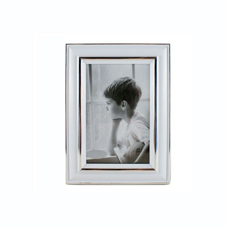 Storslået Billedramme hvid kant til 13x18 cm billede FC66