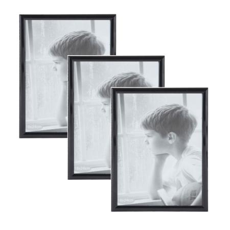 Seriøst Sorte fotorammer med tynd kant i 18x24 cm - 3 stk. rammer CG54